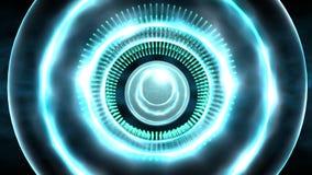 Sumário azul do círculo Imagem de Stock Royalty Free