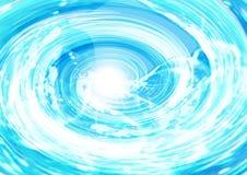 Sumário azul do giro Imagens de Stock Royalty Free