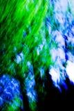 Sumário azul e verde Imagem de Stock Royalty Free