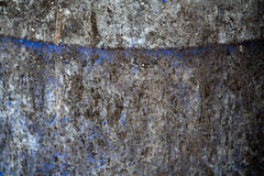 Sumário azul trashcan bonito da textura do fundo Foto de Stock Royalty Free