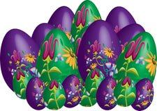 Sumário bonito dos ovos da páscoa Imagem de Stock