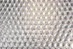 Sumário branco Backgroun do filme do coxim da embalagem ou de ar do invólucro com bolhas de ar Foto de Stock Royalty Free