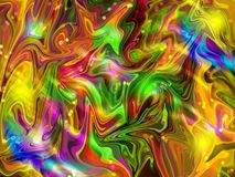 Sumário colorido Art Effect de Photoshop ilustração do vetor