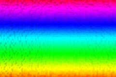Sumário colorido 3d do arco-íris Fotos de Stock Royalty Free
