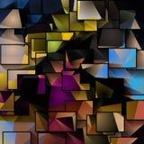 Sumário colorido dimensional ilustração royalty free