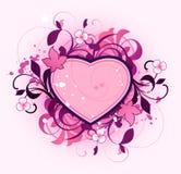 Sumário com coração Imagens de Stock