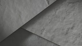Sumário concreto das pedras 3d rendem ilustração royalty free
