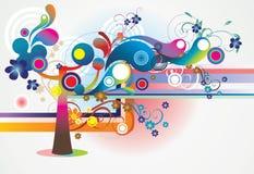 Sumário da árvore Imagens de Stock Royalty Free