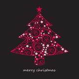 Sumário da árvore de Natal Imagem de Stock