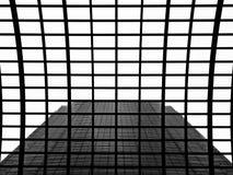 Sumário da arquitetura do arranha-céus imagem de stock
