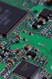 Sumário da eletrônica Fotografia de Stock