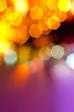 Sumário da luz festiva Foto de Stock Royalty Free