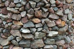 Sumário da parede de pedra Foto de Stock Royalty Free