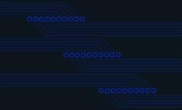 Sumário da placa de circuito ilustração stock