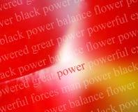 Sumário da potência Imagem de Stock