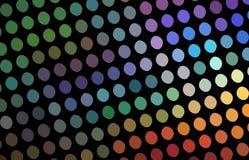 Sumário da textura de mosaico do holograma O arco-íris colore o fundo criativo festivo Decoração da noite do disco ilustração royalty free