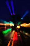 Sumário das luzes de néon Fotos de Stock