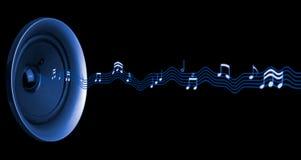 Sumário das notas musicais Imagens de Stock Royalty Free