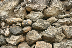 Sumário das rochas Foto de Stock
