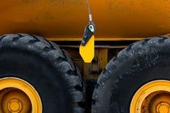 Sumário das rodas resistentes do caminhão imagem de stock