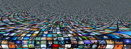 Sumário das telas Foto de Stock