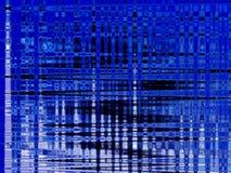 Sumário de azul, de preto, e o branco ilustração do vetor