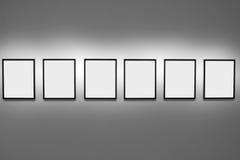 Sumário de frames de retrato vazios Imagem de Stock Royalty Free