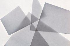 Sumário de papel cinzento geométrico da textura fotos de stock