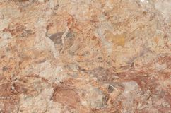 Sumário de uma montanha vermelha Foto de Stock Royalty Free