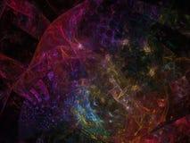 Sumário digital abstrato digital, disco do fractal do Fractal, negócio, propaganda, Fotos de Stock Royalty Free