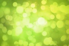 Sumário do bokeh do verde do borrão para o fundo imagem de stock royalty free