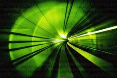 Sumário do borrão de movimento - em um título subterrâneo do túnel para fotografia de stock royalty free