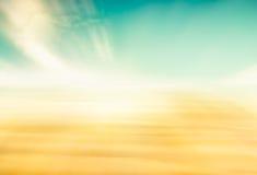 Sumário do céu da areia imagens de stock
