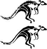 Sumário do canguru ilustração do vetor