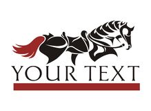 Sumário do cavalo Fotos de Stock Royalty Free