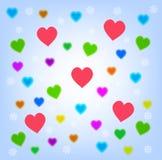 Sumário do coração Imagem de Stock Royalty Free