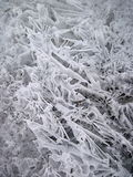 Sumário do gelo imagens de stock