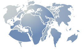 Sumário do mapa Fotos de Stock