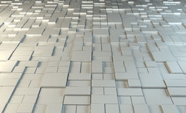 sumário do metal 3D Imagens de Stock