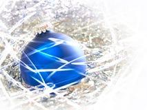 Sumário do ornamento do Natal Foto de Stock