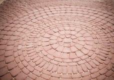 Sumário do pavimento do tijolo Imagem de Stock