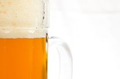 Sumário do vidro de cerveja foto de stock royalty free