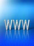 Sumário do World Wide Web Fotografia de Stock