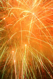Sumário dos fogos-de-artifício foto de stock
