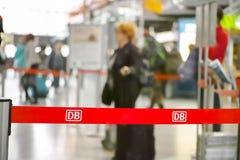 Sumário dos passageiros do DB Fotos de Stock