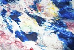 Sumário e pintura colorida com detalhes da textura ilustração do vetor