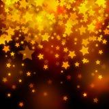 Sumário festivo do Natal das estrelas ilustração do vetor
