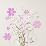 Sumário floral Imagem de Stock Royalty Free