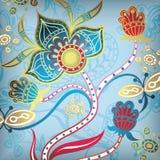 Sumário floral 6 ilustração do vetor