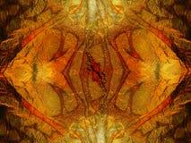 Sumário, fundo alaranjado do ouro, textura fotografia de stock